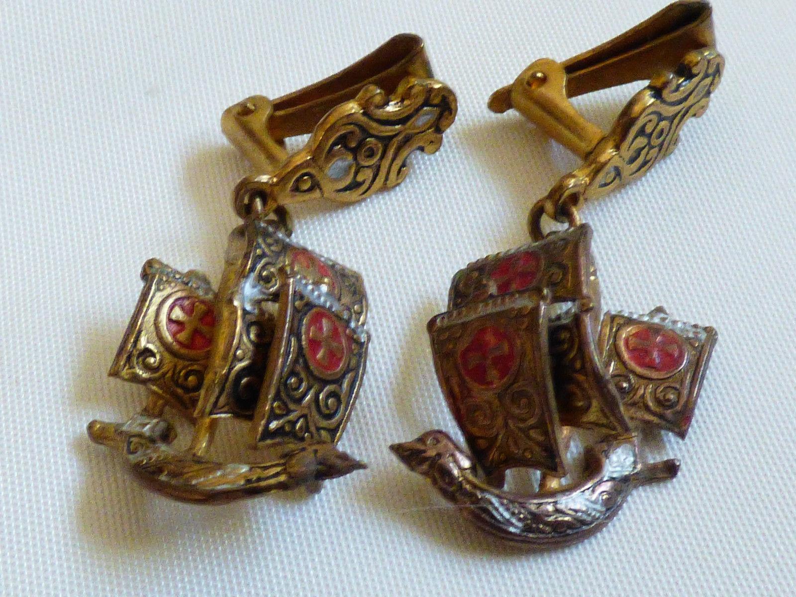 b4f6186dd VTG Spain Damascene Gold inlay Sail Ship and 50 similar items. S l1600