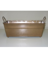Metal Centerpiece Container Gold - $10.00
