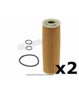 Mercedes w203 (2012+) Oil Filter Kit (Set of 2) MAHLE-KNECHT, OEM + WARR... - $39.90