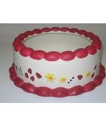 Ceramic Birthday Cake Centerpiece Arrangement Bowl  - $18.00