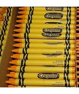 40 Dandelion Yellow Crayons Farewell Discontinued CRAYOLA Color New Boxe... - $28.53