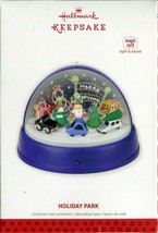 2013 Hallmark Keepsake Ornament - Holiday Park - Magic Light and Sound  - $14.84