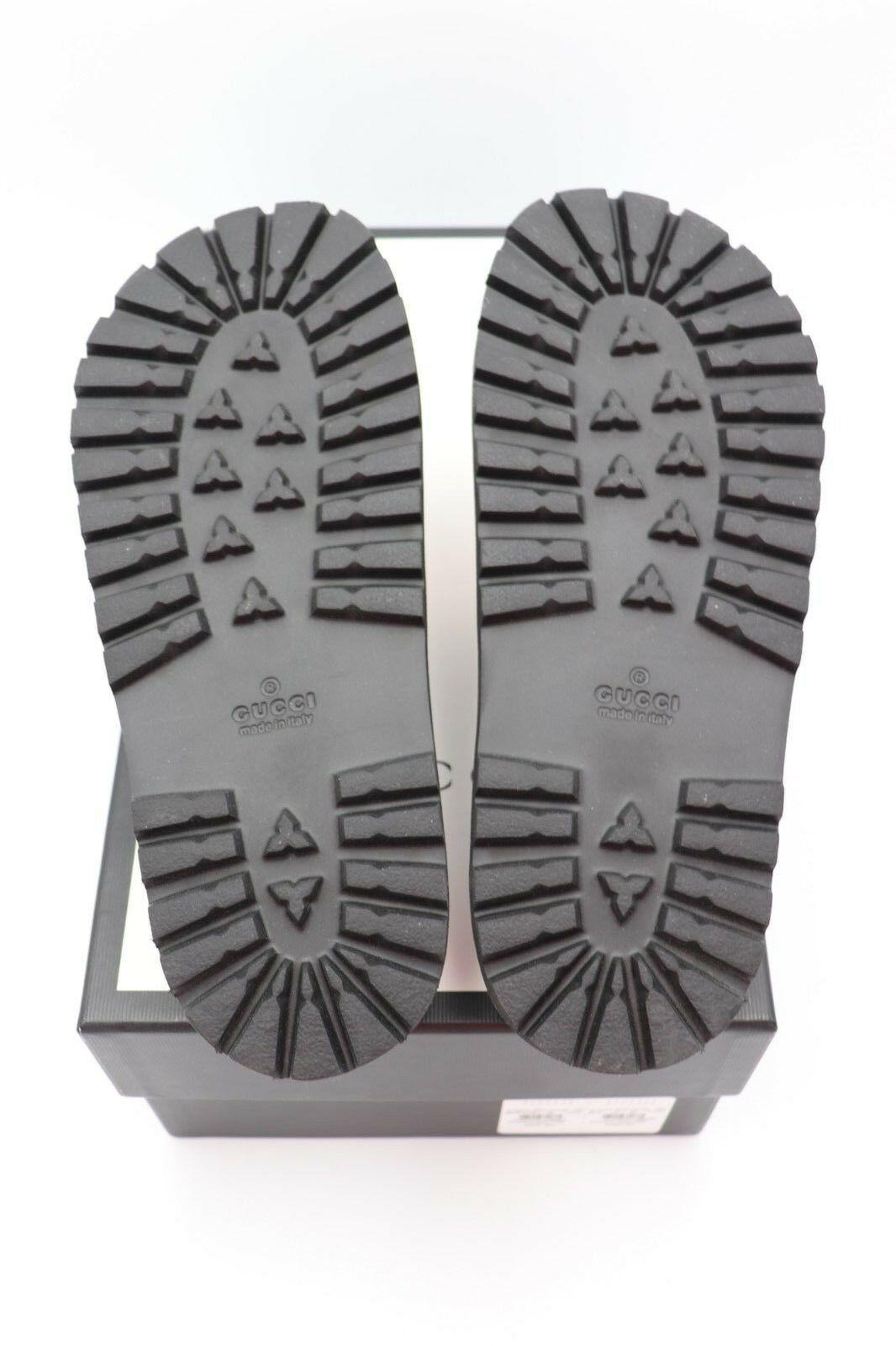 829383384 NIB Gucci Pursuit Treck Floral Jacquard Blind for Love Slide Sandals 7US 6UK