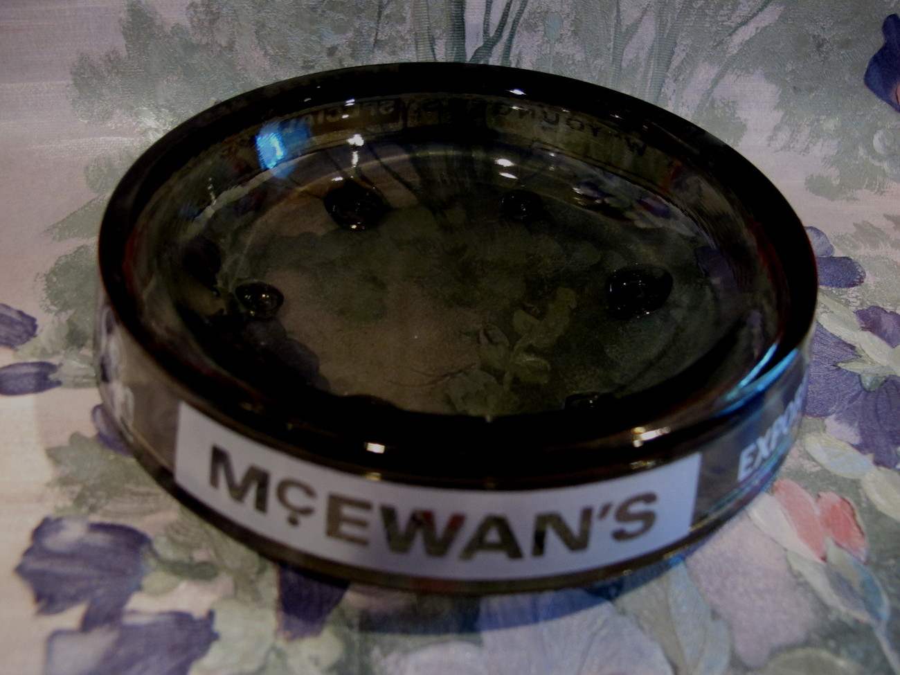 Youngers and McEwans Beer Ale Ashtray Vintage Souvenir Collector
