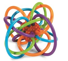 Manhattan Toy Winkel Rattle and Sensory Teether Toy - $15.65