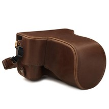 MegaGear MG1760 Ever Ready Leather Camera Case Compatible with Canon EOS... - $64.99