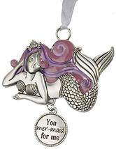 Gnz Life is a Breeze Inspirational Zinc Ornaments -You mer-Maid for me - $7.43