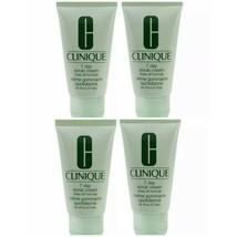4x Clinique 7 Day Scrub Cream Exfoliate 1oz/30ml each Travel Size 4oz Total New - $10.84