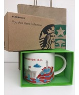 Starbucks Washington DC YAH You Are Here  Ceramic Coffee Mug 16 oz - $29.69
