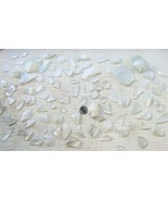 Clear Glass Seas Glass Machine Tumbled 7 Pounds - $7.50