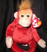 TY BEST OFFER SCHWEETHEART The MONKEY TY BEANIE BABY 1999  - $9.99
