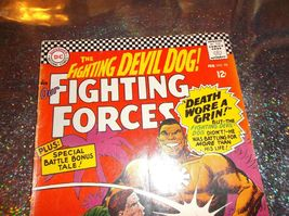 1966 * Intro: Lt. Larry Rock * Our Fighting Forces # 98 * Sgt Rock's Bro * VG/VG - $15.00