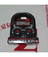 Evangelion Compact storage capable foldable stereo headphone flannel Typ... - $76.27