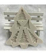 Christmas Tree Silicone Fondant Mold Cake Decor Chocolate Sugarcraft Bak... - $9.30
