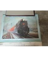 """Pennsylvania Railroad, Grif Teller , 1977 Calendar , 26""""X24"""", Rare , Vin... - $34.65"""