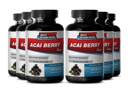 Energy Booster Pills - Acai Berry Lean 550mg - Acai Berry Powder 6B - $61.33