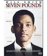 Seven Pounds (DVD, 2009) - $6.00