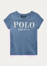 Ralph Lauren Capri Blue Cotton Jersey Logo Tee, Us 6X - $17.52