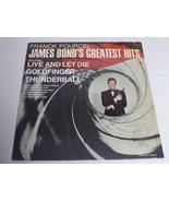 James Bond's Greatest Hits ORIGINAL Vintage 1973 Vinyl LP Record Album - $18.49