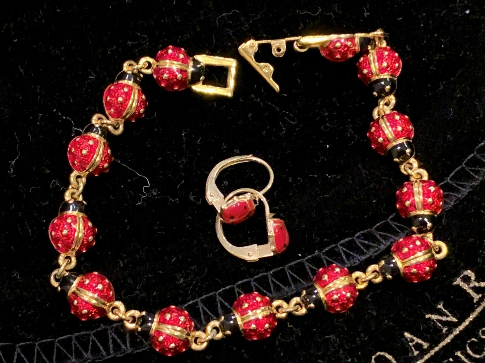 Joan Rivers Goldtone Line 7 5 Bracelet