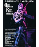 "Ozzy Osbourne Band Randy Rhoads ""Tribute"" Stand-Up Display - Guitar Conc... - $16.99"