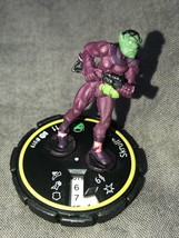 Heroscapes Super Hero Marvel Figure Game Piece Cake Topper Scroll Agent 11 - $14.85