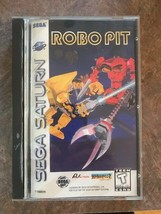 Robo Pit Sega Saturn Complete Cib Game Box & Instructions - Very Clean** - $34.60