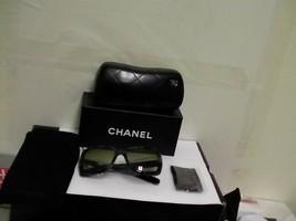 Chanel New Sunglasses 5236 c.1391/3M Camo Green 55mm authentic - $222.70