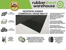 "Neoprene Rubber Sheet, Rolls, Strips 1/16"" .062"" Thick x 18"" Wide x 36"" Long Sol image 3"