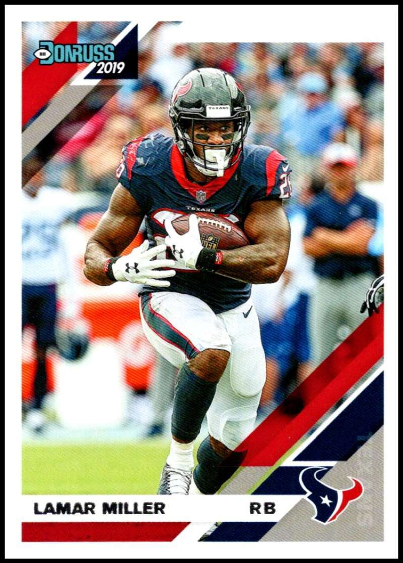 Primary image for 2019 Donruss #110 Lamar Miller NM-MT Texans