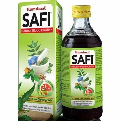 Primary image for Hamdard Safi Syrup 500ml FDA APPROVED Herbal For Blood Purifier Acne Treatment