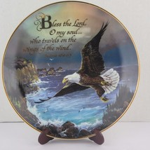 Franklin Mint Heirloom Recommendation The American Eagle 6 Plate Collection - $70.51