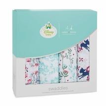 aden + anais Swaddles Baby Cotton Muslin 4 Pack Disney Bambi  - $44.00
