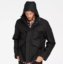 TIMBERLAND MEN'S RAGGED MOUNTAIN 3-IN-1 WATERPROOF FIELD JACKET A1RXK SI... - $158.94