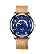 Curren Men's Leather Analog Quartz Wrist Watch 8267 (Brown & Blue) - $37.00