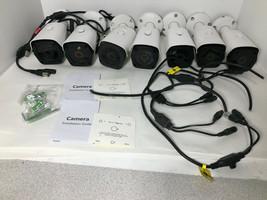 7 LOT Supercircuits WL-TC20B 2MP HD-TVI/AHD/CVI/CVBS IR Bullet Security ... - $68.87