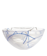 Kosta Boda Serveware White Contrast Bowl, 3 Sizes - £28.20 GBP+
