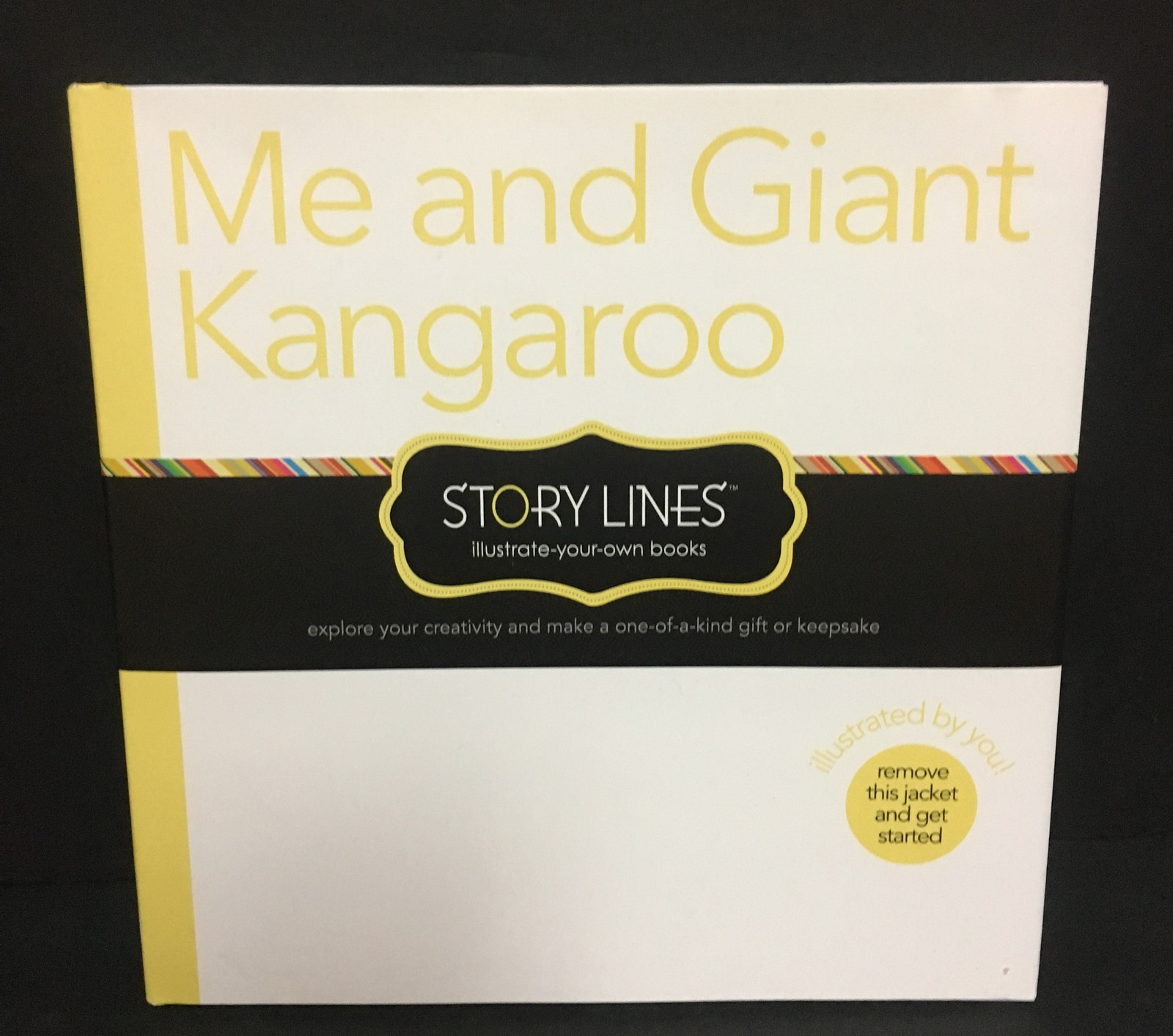 Me and Giant Kangaroo Story Lines Children's Activity Book M.H. Clark