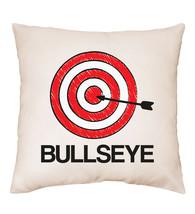 Bullseye Funny Humour Target Darts Archery Pillow Cushion Cover Gift - $9.06+