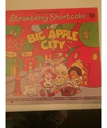 Strawberry Shortcake Big Apple City Soundtrack LP Record Album Kid Stuff... - $29.69