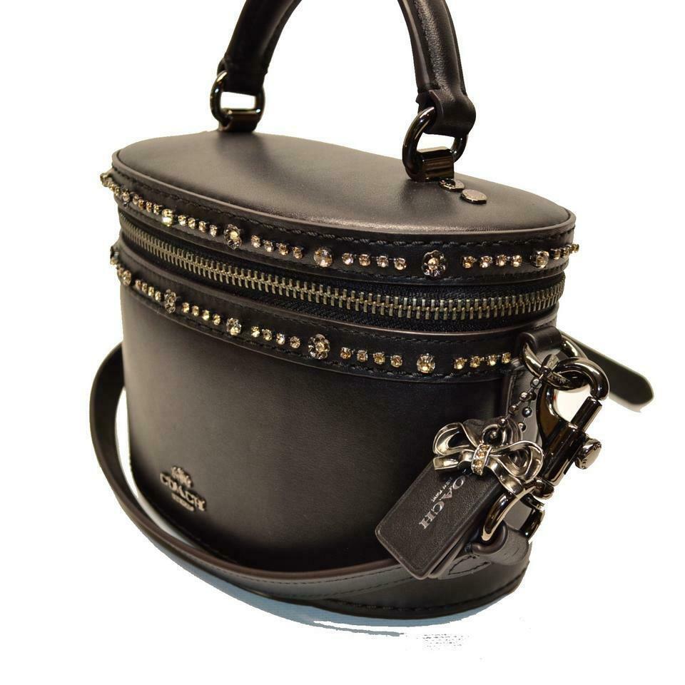 COACH 39292 Selena Gomez leather Top-Handle Crossbody bag
