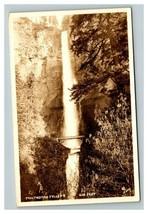 Vintage 1930's RPPC Postcard Multnomah Falls Columbia River Gorge Oregon - $24.42