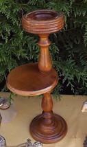 pedestal ashtray danish design 1960 Victorian plant stand art deco mid c... - $100.00