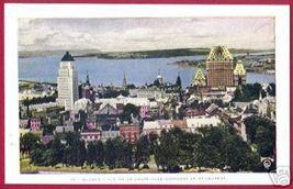 QUEBEC Vue de La Haute Ville Le St-Laurent Town view - $6.00
