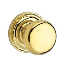 Baldwin Reserve 9BR3520-024 Traditional Round Passage Knob in Polished Brass - $80.62