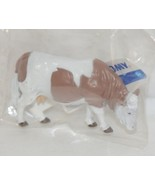 Tomy LP65096 John Deere Brown White Simmental Cattle Collect N Play - $9.99