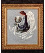 Earth Angel cross stitch Lavendar & Lace Marilyn Leavitt-Imblum - $10.80