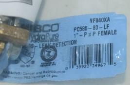 NIBCO HydraPure NF840X8A PC58580LF 1 Inch Lead-Free Bronze Ball Valve image 2