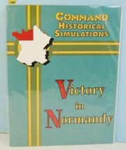 Victory in Normandy Command Historical Simulations XTR 1992 NOS Unpunched - $39.55