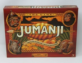 Original Jumanji Action Board Game w/Accessories Family Children Gift Games Toys - $16.14